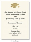 Golden Treasures - Graduation Invitation