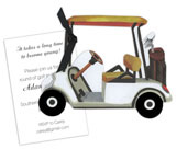 Golf Cart Invitation