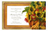 Gourds and Blooms Invitation