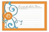 Gourmet Get-Together Tangerine Recipe Card