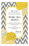 Graceful Grey Invitation