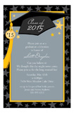 Grad Cap and Tassel Invitation