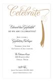 Grad Celebrate Gold
