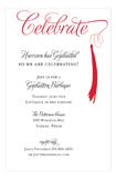 Grad Celebrate Red