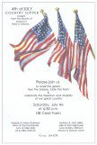Grand Flags 4th of July Invitations