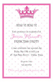 Grand Princess Invitation