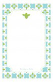 Green Bee Notepad
