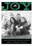 Green Big Joy Photo Card