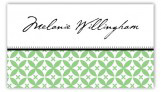Green Elegance Calling Card
