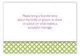 Green Garden Trellis Enclosure Card