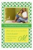 Green Trellis Photo Card