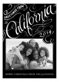 Greetings From California Family Photo Cards