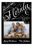 Greetings from Florida Photo Card