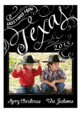 Greetings from Texas Photo Card