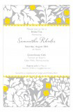 Grey Garden Invitation