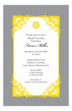Grey Vintage Invitation