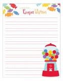 Gumball Notepad