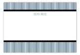 Guy Grad Flat Note Card
