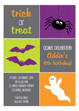 Halloween Icons Invitation