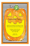 Halloween Jack O Lantern Invitation