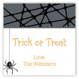 Halloween Spider Square Sticker