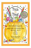Halloween Treat Bag Invitation