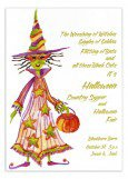Hally Ween Invitation