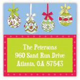 Hanging Ornaments Square Sticker