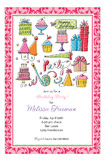 Happy Birthday Girl Invitation