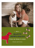 Happy Howlidays Photo Card