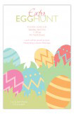 Happy Egg Hunting Easter Invitations