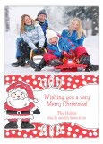 Happy Santa Photo Card