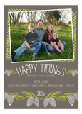 Happy Tidings Photo Card