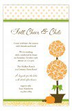 Harvest Topiary Invitation