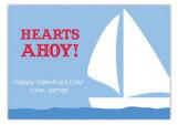 Hearts Ahoy Valentine Card