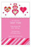 Hearts Galore Invitation