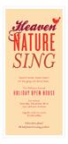 Heaven & Nature Sing Invitation