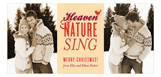 Heaven & Nature Sing Photo Card