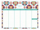 Henna Calendar Pad