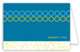 Hey Baby Blue Note Card