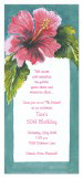 Hibiscus Invitation