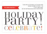 Hip Holiday Invitation