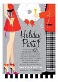 Hipster Holiday Invitation