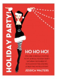 Ho Ho Holiday Party Invitation