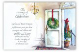 Holiday at Home Invitation