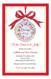 Holiday Ball Invitation