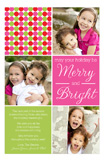 Holiday Cheer Dots Photo Card
