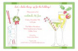 Holiday Cocktails Invitation