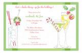 Holiday Cocktails Invitation