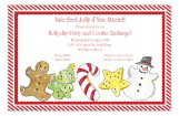 Holiday Cookies Invitation